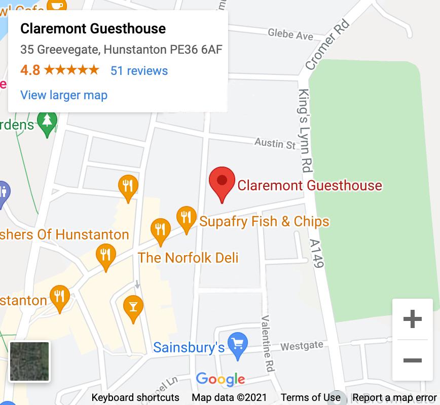 Claremont-Map